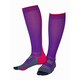 Gococo Compression Superior Running Socks pink/purple